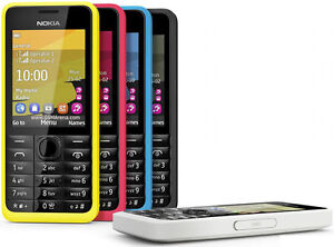 Original Nokia 301 3010 Cellphone Single/Dual SIM Tmobile GSM Unlocked 5 Colors