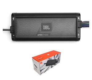 JBL Apex 4-Channel 450 Watt Marine and Powersports Class D Amplifier APEX PA454