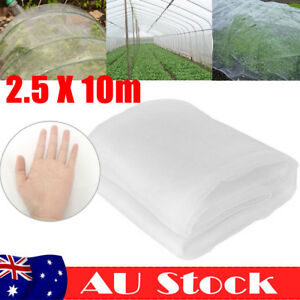 2.5 x 10m Insect Netting Net Crop Veg Plant Protect Mesh Cover Garden Orchard