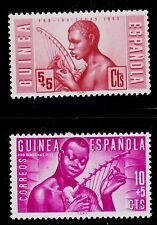 SPANISH  GUINEA  SCOTT#  B25-B26   MNH   MUSIC TOPICAL