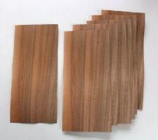 7 Bl. dickes französisch Nussbaum 1,2mm Furnier Intarsie placage Noyer francais