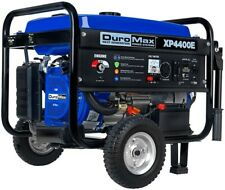 DuroMax XP4400E Gas Powered Portable Generator - 4400 Watt -Electric Start- Camp