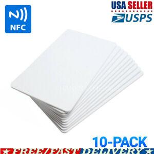 NTAG215 Blank PVC NFC Cards Tags NTAG 215 TagMo Amiibo Compatible 10Pcs US