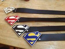 Superman ceinture USA Seatbelt Style Acier Inoxydable MAN OF STEEL DC COMICS No Shirt