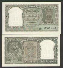 INDIA  2 RUPEES  ND (1962-67) W/staple holes   P 31  Uncirculated  Serie E/25