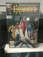 Excalibur 1 NM LOT OF 2 ..UNREAD...KEY TO SERIES...FIRST WIDGET..