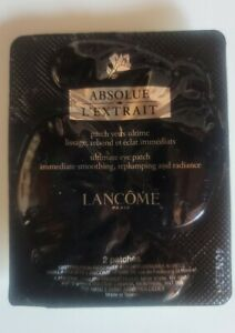 Lancome 1 Pair Of Absolue L'Extrait Eye Patches Brand new Sealed