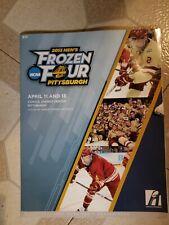 2013 Men's Frozen Four Program Pittsburgh Yale Quinnipac St. Cloud Mass-Lowell