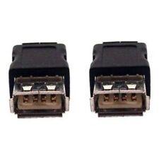USB2.0 gender changer adapter / cable coupler, female to female (socket/socket)