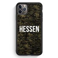Hessen Camouflage iPhone 11 Pro Max Silikon Hülle Motiv Design Deutschland Mi...