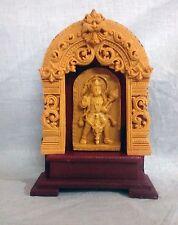 "Marble Statue Lord Hanuman 7"" Hindu God Bajrang Bali Sculpture Figurine New Gift"