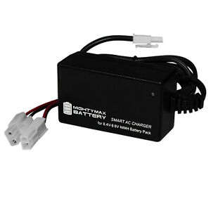 Mighty Max Smart Charger for 9.6V - 1600mAh NiMH AIRSOFT Battery