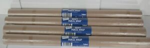 1-4 Rolls of Brown Kraft Parcel Paper;-Packing and Wrapping Parcels- 8M x 50cm