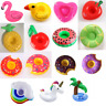 4x Inflatable Drink Holder Floating Can Cup Hot Tub Swimming Pool Beach Party