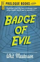 Badge of Evil by Masterson, Whit Book The Fast Free Shipping