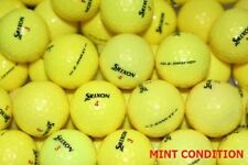 40 Srixon Z Star XV Yellow Mint Condition Golf Balls