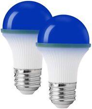 2 PACK Colored Light Bulbs Colored LED Light Bulbs Night Light Bulbs BLUE
