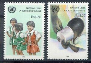 19589) United Nations (Geneve) 1985 MNH New Children