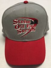 Steier Oil Field Service Hat North Dakota Baseball Cap ND Oilfield Gray Energy