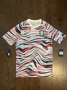 Nike South Korea 2020 Pre-Match Football/Soccer Jersey Mens Sz Medium CQ9193-100