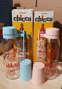 Chicco vintage Biberon Baby Bottle Pyrex glass anni 70