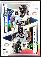 Khalil Mack 2019 Donruss Elite Deck BEARS