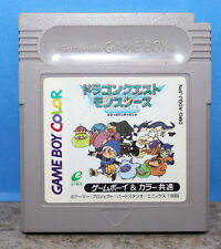 Dragon Quest Monsters Gameboy Color Japanese Import Version Cartridge Only 1998