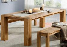 Tisch Esstisch 220x100cm Wildeiche Eiche Massivholz massiv geölt NEU OVP!!!!!