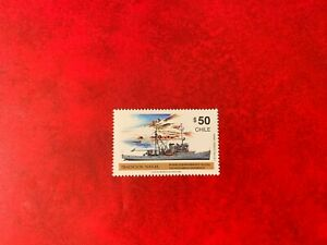 CHILE ANTARCTIC 1990 MNH NAVAL TRADITION SHIP YELCHO OCEANOGRAPHIC RESEARCH