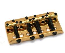 NOS Genuine Fender Gold American Series Deluxe Urge P/J Bass Bridge 003-9439-000