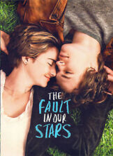 The Fault in Our Stars (Blu-ray/DVD, Used Very Good) No digital HD Free Shipping