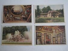 (12) 1940'S RF CHATEAU DE VERSAILLES POST CARDS - UNUSED - SEE PICS - OFC-B