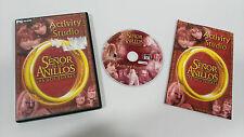 EL SEÑOR DE LOS ANILLOS THE TWO TORRES SET PC CD-ROM SPANISH ACTIVITY STUDIO