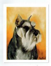 Miniature Schnauzer Head Study 6 Note Cards & 6 Envelopes By Ruth Maystead Msh-1