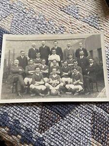Vintage, Rare Football, Postcard , SHETLAND 1920, Cup Winners
