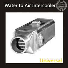 Universal Premium Aluminium Front-Mount Water to Air Square Intercooler Kit NEW