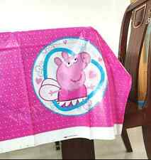 Peppa Pig Plastic Table Cloth Birthday Party Supplies. AU STOCK FAST POSTAGE!