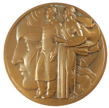 1937art deco  INTERNATIONAL EXPOSITION - ART ET TECHNIQUES bronze 69mm by Turin