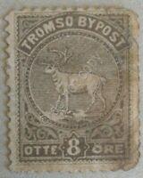 Francobollo Novegia - Tromso Bypost Otte Ore - Norway local stamp