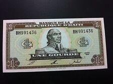 HAITI 1 GOURDE 1993- BANQUE DE LA REPUBLIQUE D,HAITI- UNC !!!