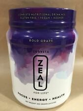 Zurvita ZEAL FOR LIFE 30 Day Canister Bold Grape Wellness Formula 12/17 Exp Date