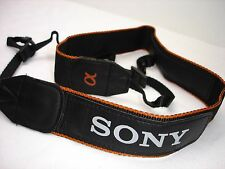 "Genuine SONY Alpha  camera strap  1 3/8"" Wide model  #01943"