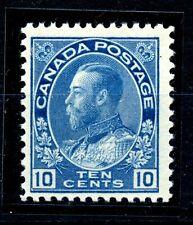 Weeda Canada 117a Fresh F MNH 10c blue dry printing Admiral CV $60