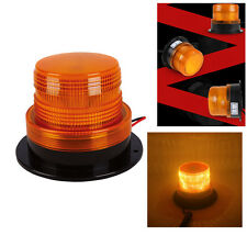 12V/24V Yellow 24 LED Vehicle Roof Beacon Flash Warning Strobe Emergency Light
