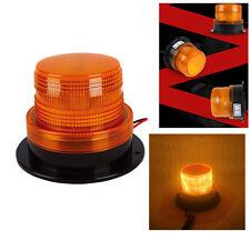 12V/24V Yellow 24 LED Vehicle Roof Beacon Flash Warning Strobe Emergency Light