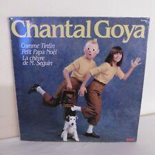"33 tours Chantal GOYA Disque LP 12"" COMME TINTIN - PETIT PAPA NOËL - RCA 37580"