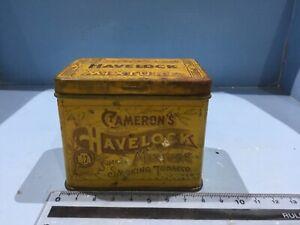 VINTAGE TOBACCO TIN AUSTRALIAN CAMERONS HAVELOCK SMOKING TOBACCO NICE LARGER TIN