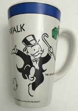 Design Pac Inc. Mr. Monopoly Boardwalk Collector Cafe Latte Mug Game Ceramic Cup