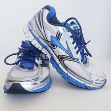 Brooks GTS 14 Adrenaline Men's White Blue Running Athletic Shoes 12 M