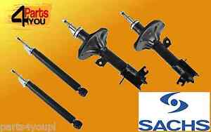 SACHS 4x SET Front Rear Shock Absorbers DAMPERS HYUNDAI SANTA FE I SM 2001-2006